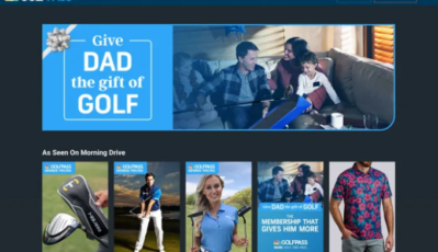 Golf Channel Fathers' Day Push Tees Up ShoppableTV