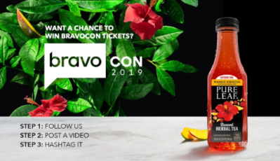 Pure Leaf Tea Offering Fans Tickets to Sold-Out BravoCon