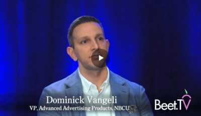 NBCU's Dominick Vangeli: 'Fragmentation Is at an All-Time High'