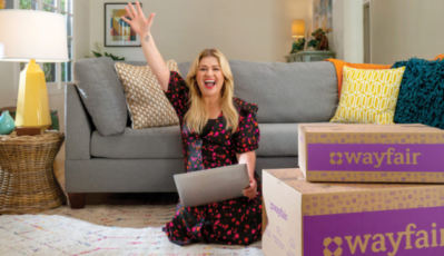 Wayfair names new brand ambassador