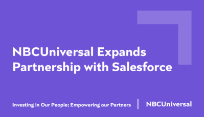 NBCUniversal Expands Salesforce Partnership to Redefine the Future of Work