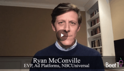 Beet.TV: With AutoScheduler, FreeWheel Begins Powering Linear TV Ads: NBCU's McConville