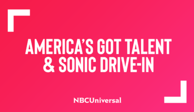 """SONIC Drive-In Partners with NBC's """"America's Got Talent"""" as a Premier Sponsor"""