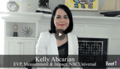 Audience Measurement Should Bolster Value of TV Content: NBCUniversal's Kelly Abcarian